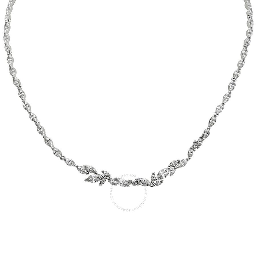 Swarovski Louison Rhodium Plated Necklace