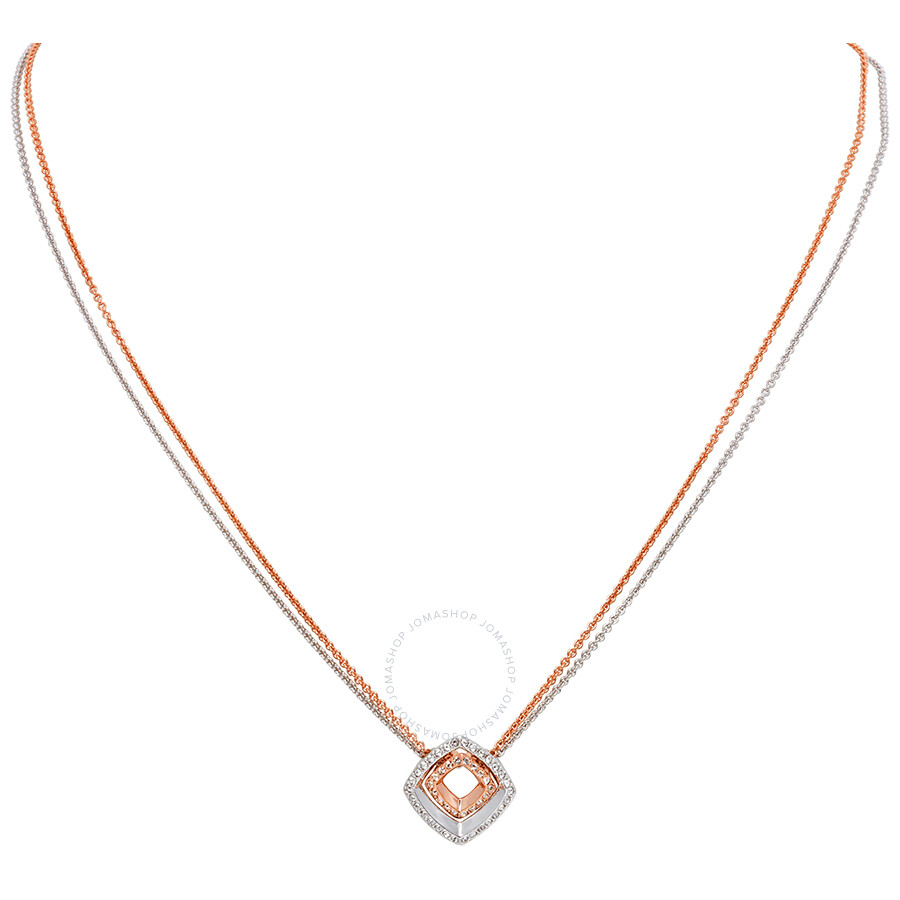 Swarovski Lovesome Square Necklace