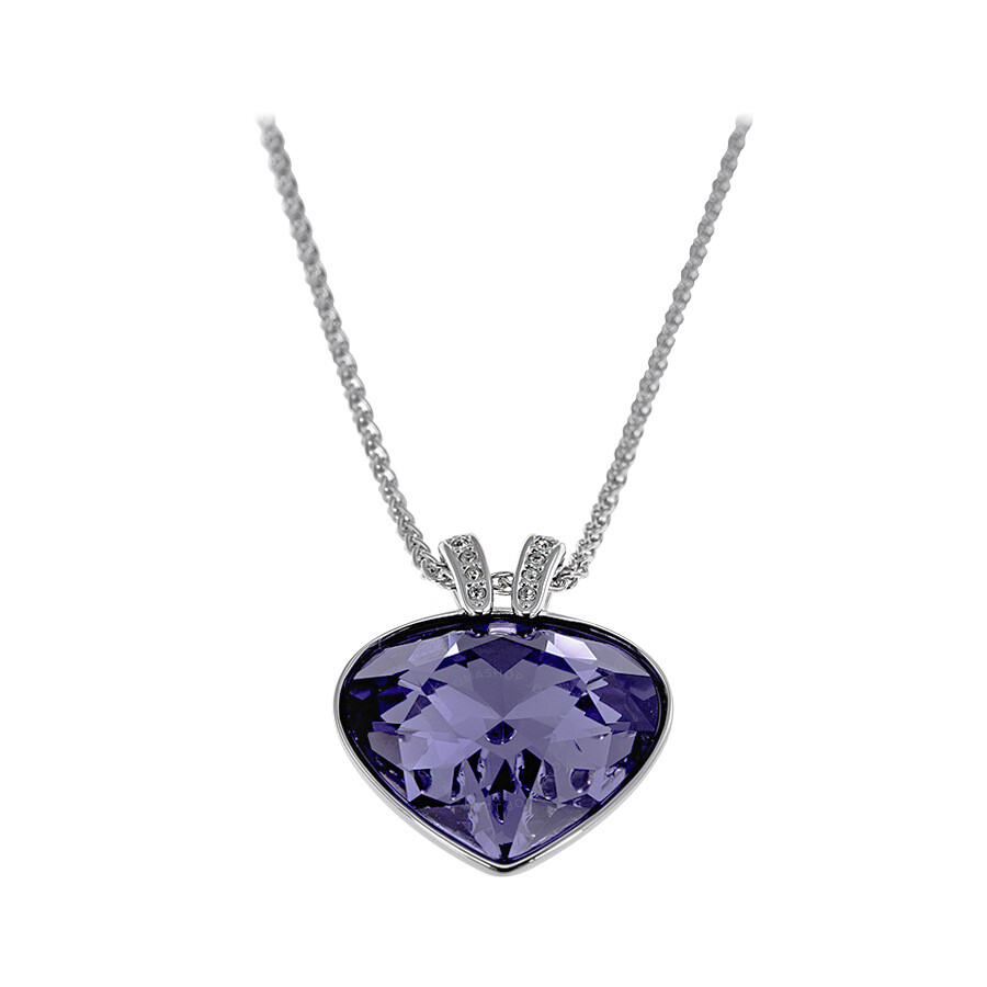 necklaces pendant with white gold tanzanite en pendants