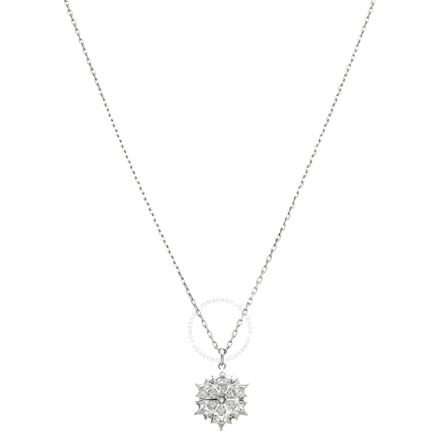 Swarovski Rhodium Plated Magic Necklace5428432