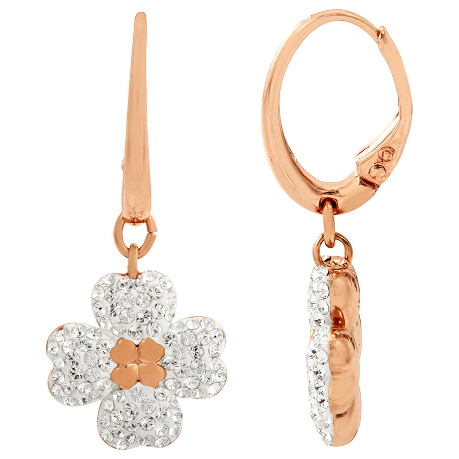 rose rosaforgyldt oereringe earrings goldplated earring anna gold plated soelv