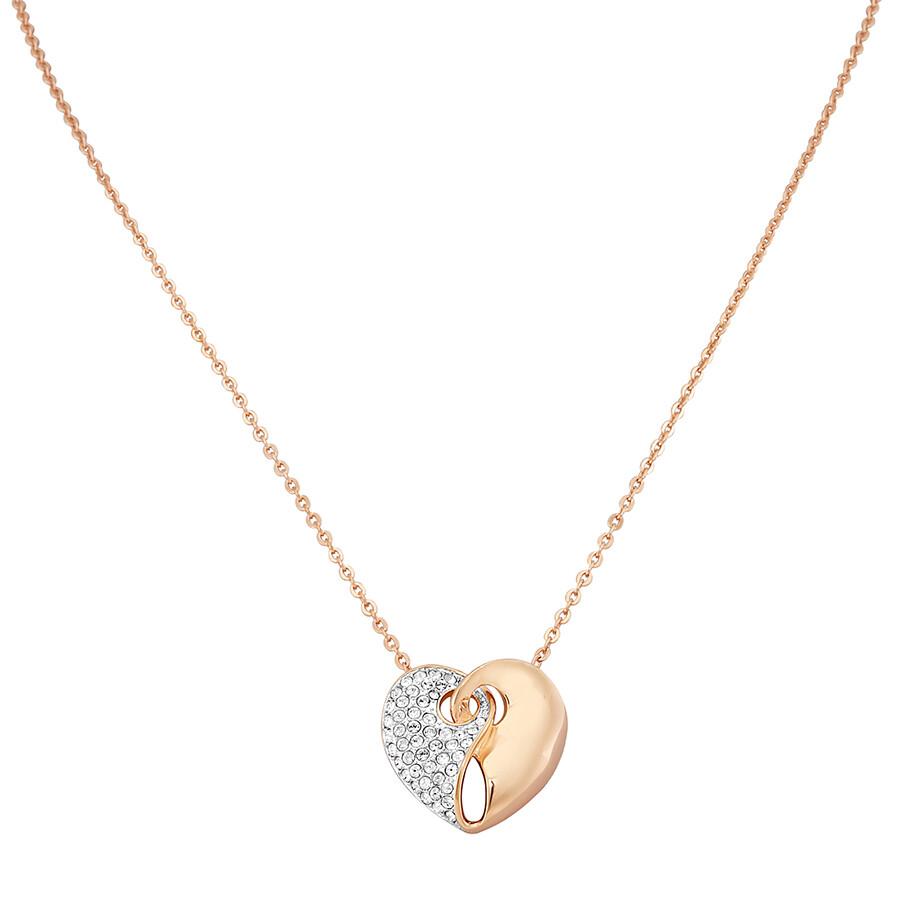 swarovski small guardian heart necklace 5292396. Black Bedroom Furniture Sets. Home Design Ideas