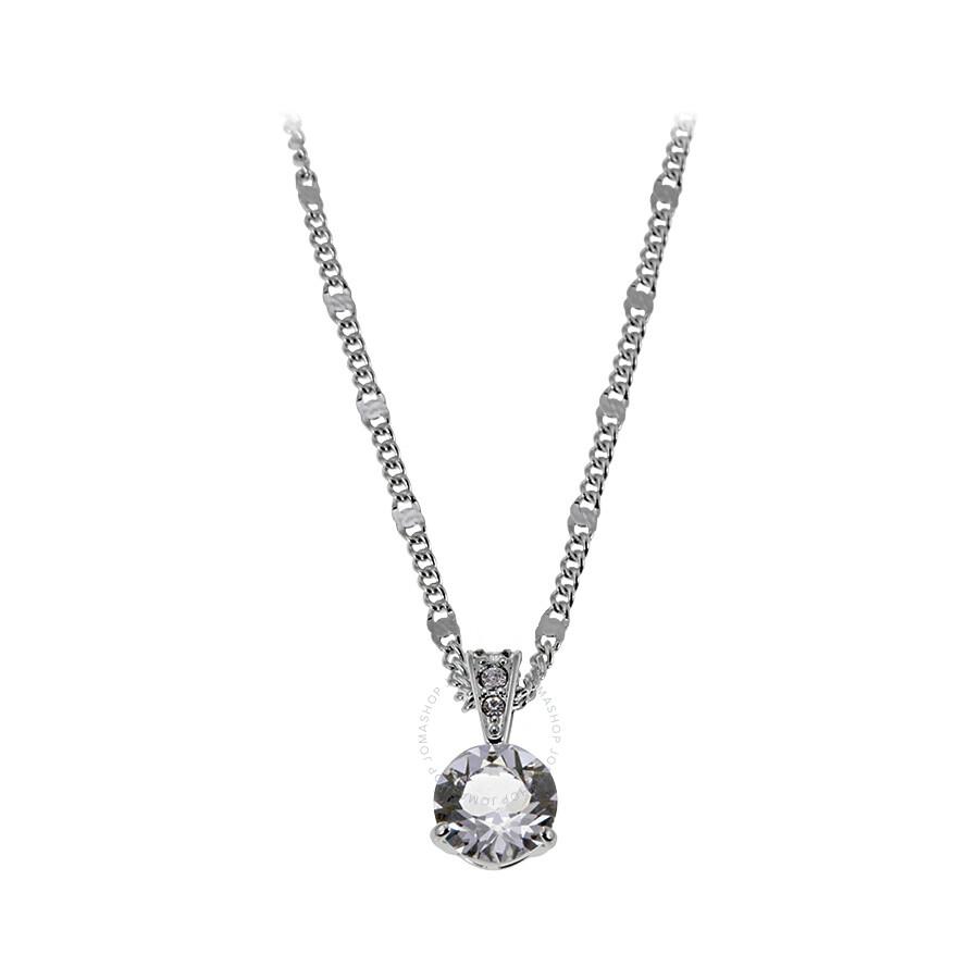 Swarovski solitaire pendant necklace 1800045 swarovski ladies swarovski solitaire pendant necklace 1800045 mozeypictures Images