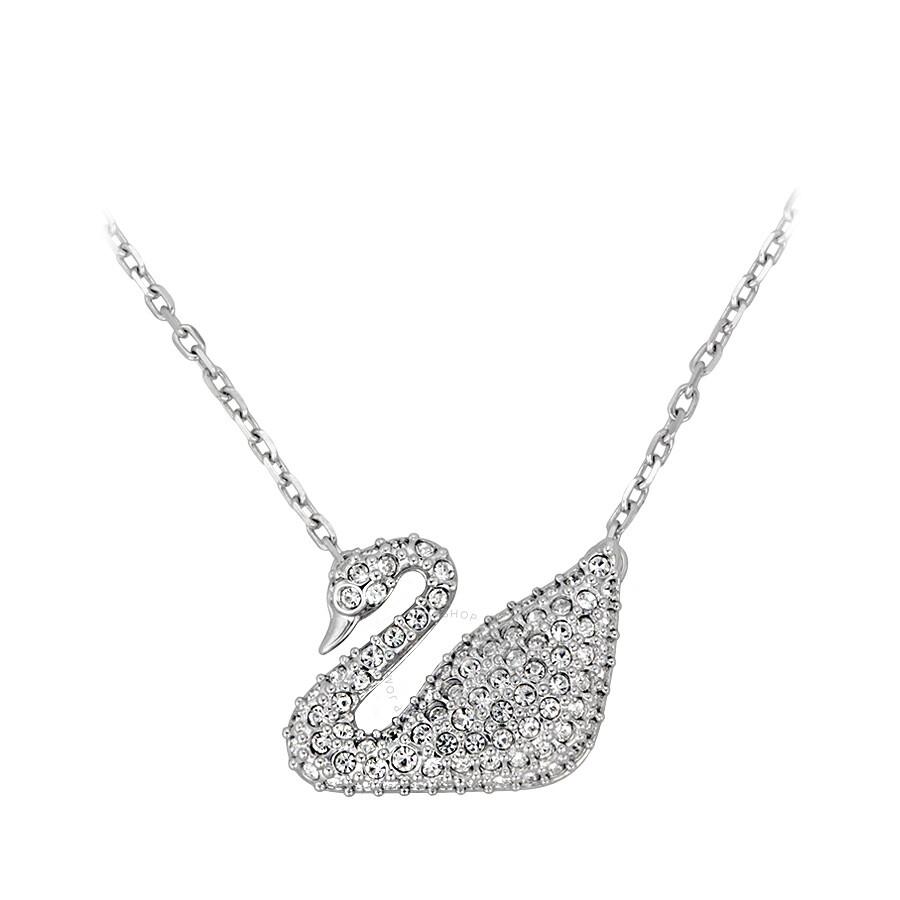 Swarovski swan pendant 5007735 swarovski ladies jewelry swarovski swan pendant 5007735 aloadofball Images