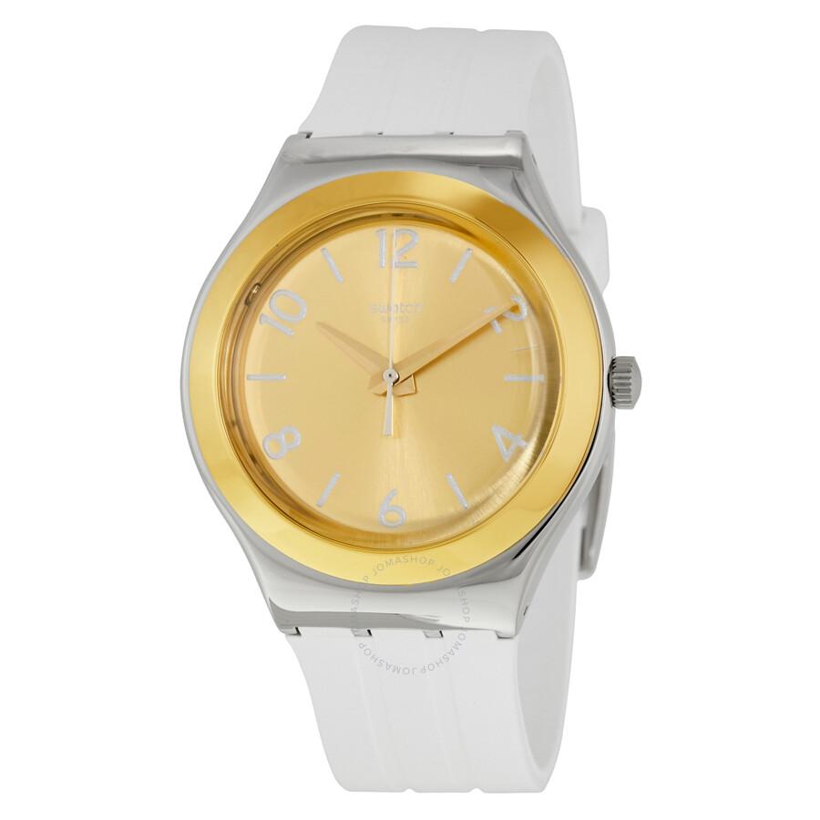 Swatch Irony YCG405GC Dreamnight 14 Golden Reloj