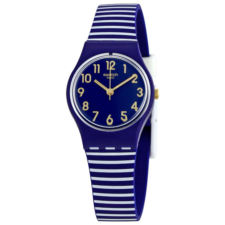 Swatch Ora D aria Ladies Striped Watch LN153