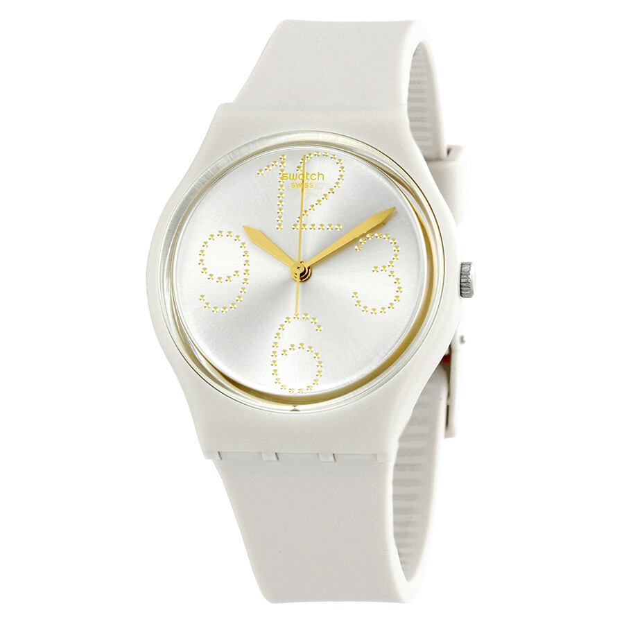 Swatch Sheerchic Silver Dial Ladies Watch GT107