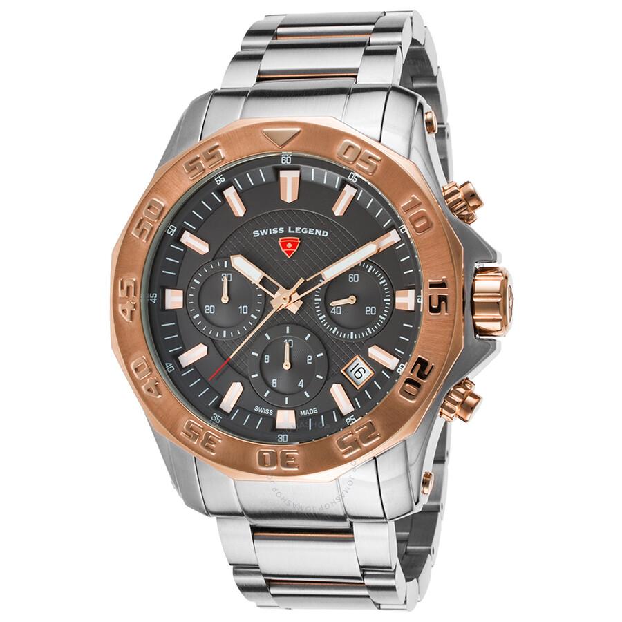 Swiss Legend Islander Chronograph Mens Watch 16199SM-SR-104-RB