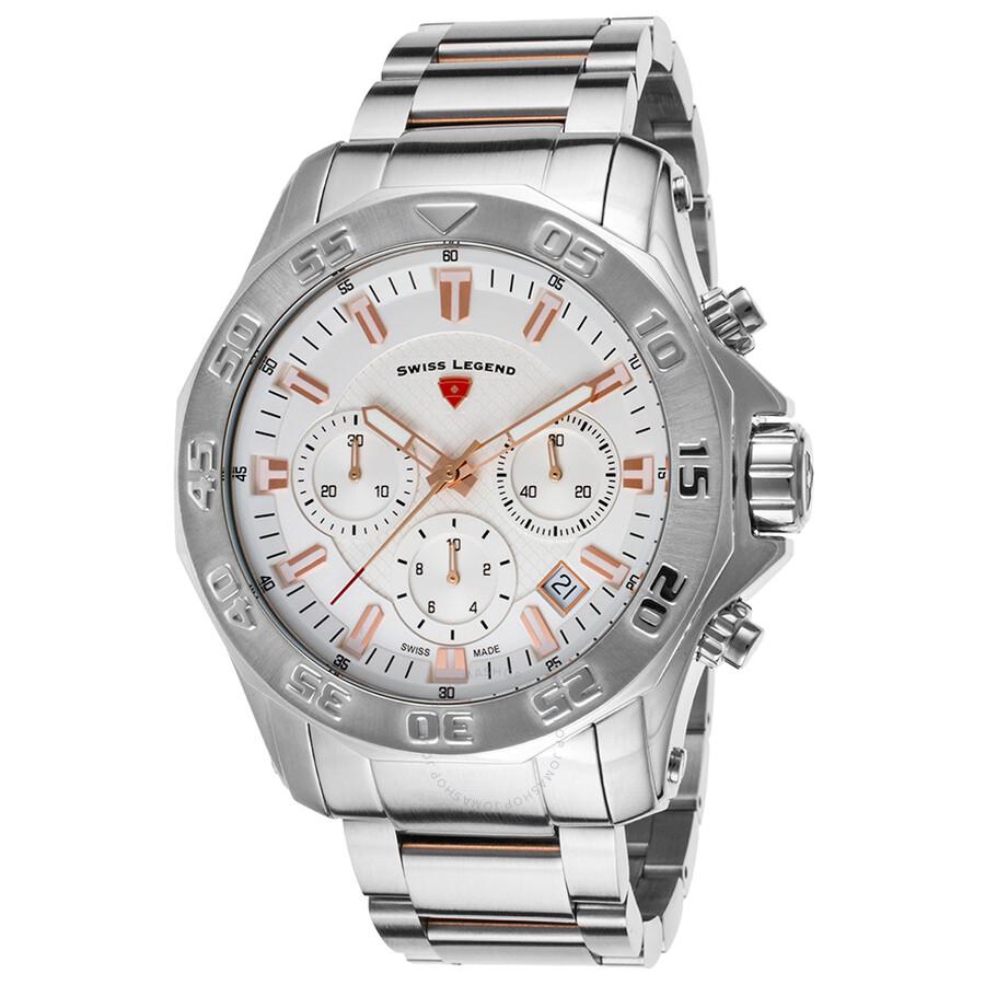 Swiss Legend Islander Chronograph Mens Watch 16199SM-SR-22S
