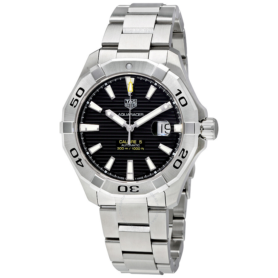 tag heuer aquaracer automatic black dial men 39 s watch way2010 ba0927 aquaracer tag heuer