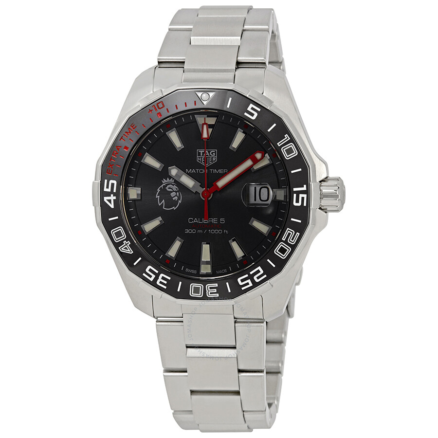 Tag heuer aquaracer automatic premiere league special edition men 39 s watch way201d ba0927 for Tag heuer automatic