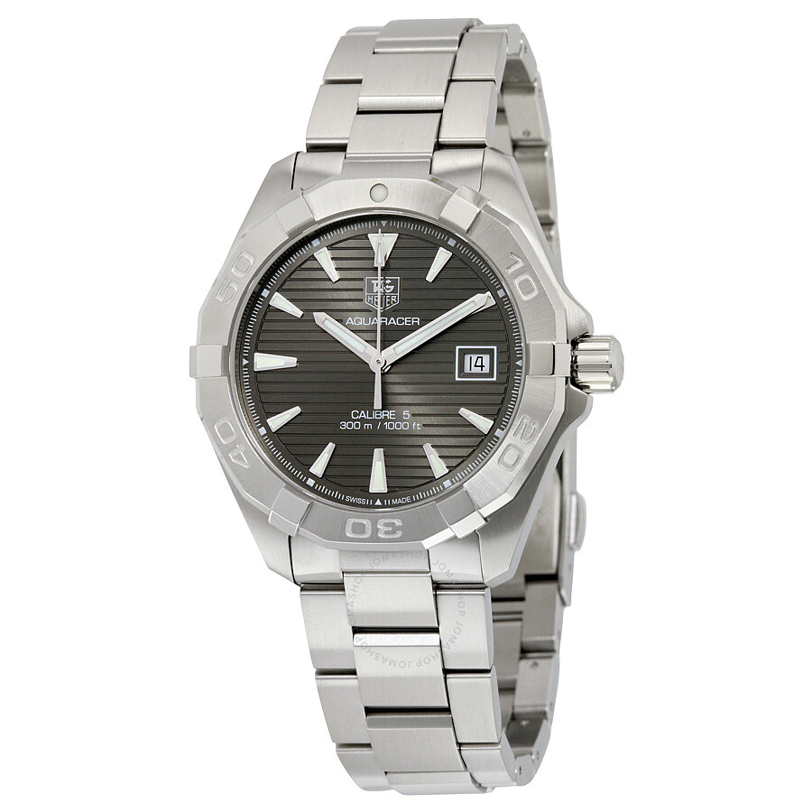 Tag heuer aquaracer automatic men 39 s watch way2113 ba0928 calibre 5 aquaracer tag heuer for Tag heuer automatic