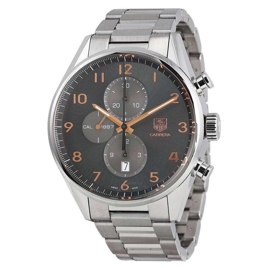 tag heuer carrera automatic chronograph men 39 s watch. Black Bedroom Furniture Sets. Home Design Ideas