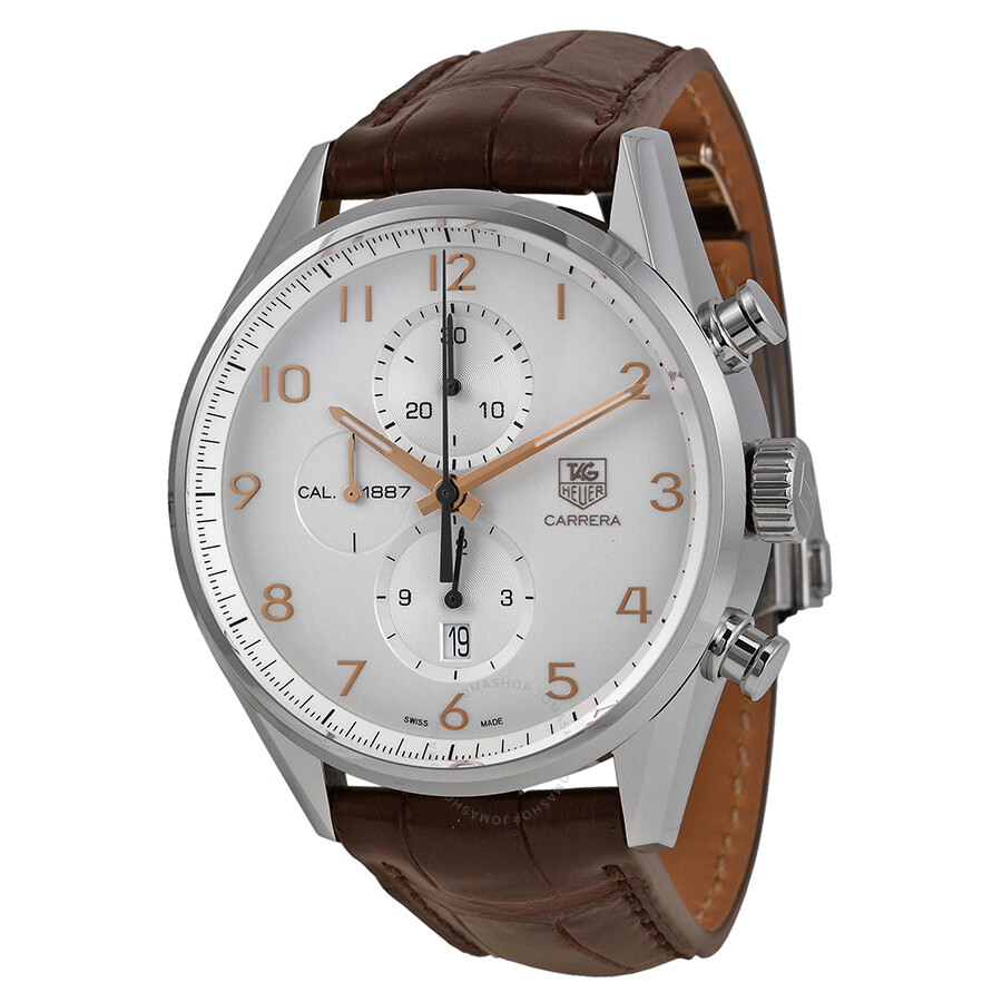 Tag heuer carrera chronograph automatic men 39 s watch car2012 fc6236 carrera tag heuer for Tag heuer chronograph