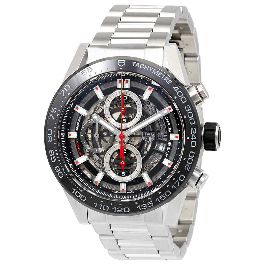 tag heuer carrera chronograph automatic men 39 s watch. Black Bedroom Furniture Sets. Home Design Ideas