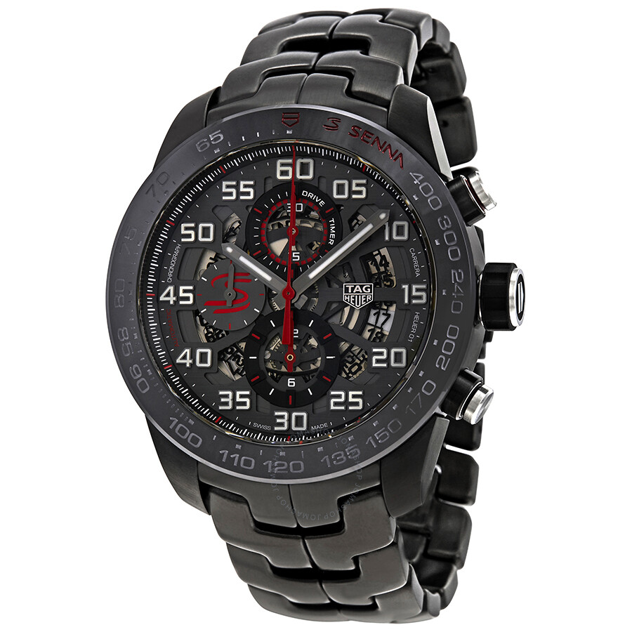 Tag heuer carrera chronograph automatic men 39 s watch car2a1l ba0688 carrera tag heuer for Tag heuer chronograph