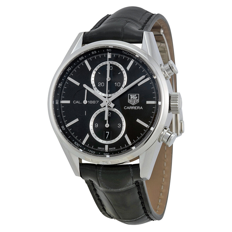 Tag heuer carrera chronograph men 39 s watch car2110 fc6266 carrera tag heuer watches jomashop for Tag heuer chronograph