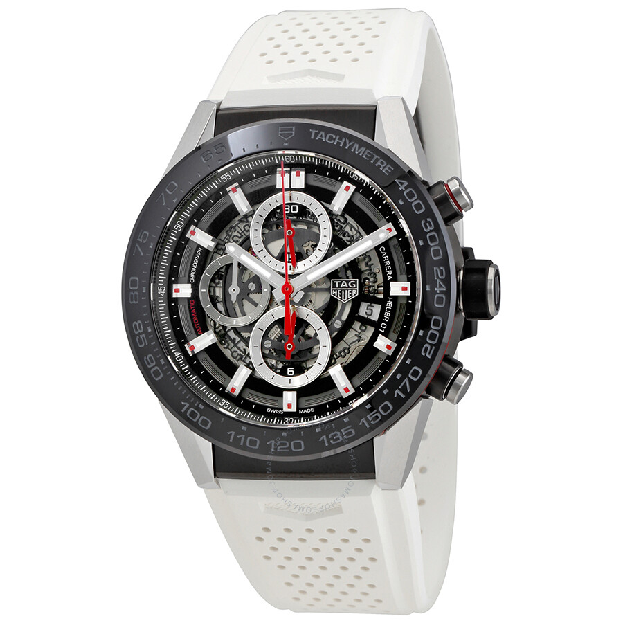 Tag Heuer Carrera Chronograph Automatic Mens Watch CAR2A1Z.FT6051