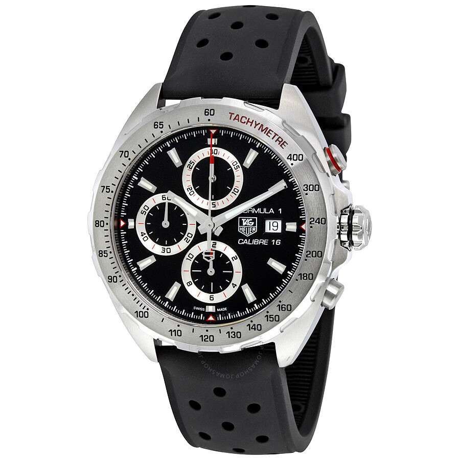 Tag heuer formula 1 chronograph automatic men 39 s watch caz2010ft8024 formula 1 tag heuer for Tag heuer chronograph