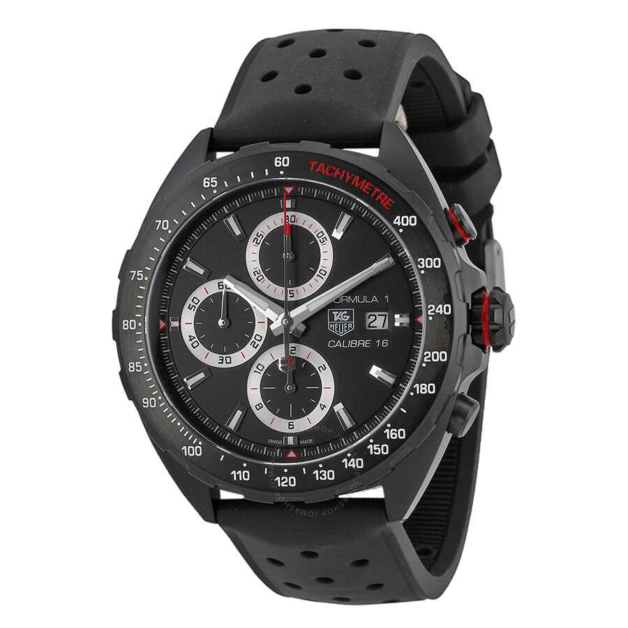 Tag heuer formula one chronograph black dial men 39 s watch caz2011 ft8024 formula 1 tag heuer for Tag heuer chronograph
