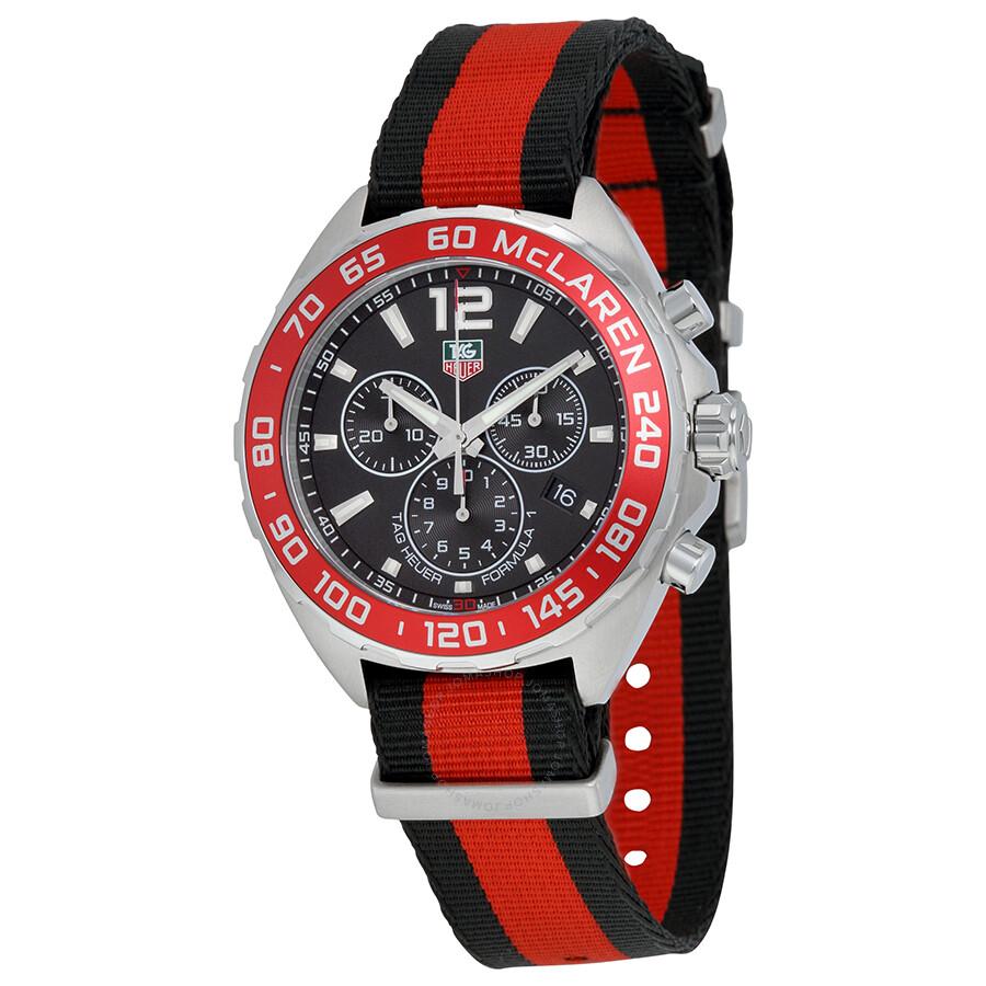 Tag Heuer Formula One McLaren Limited Edition Black Dial Mens Quartz Watch CAZ1112. FC8188