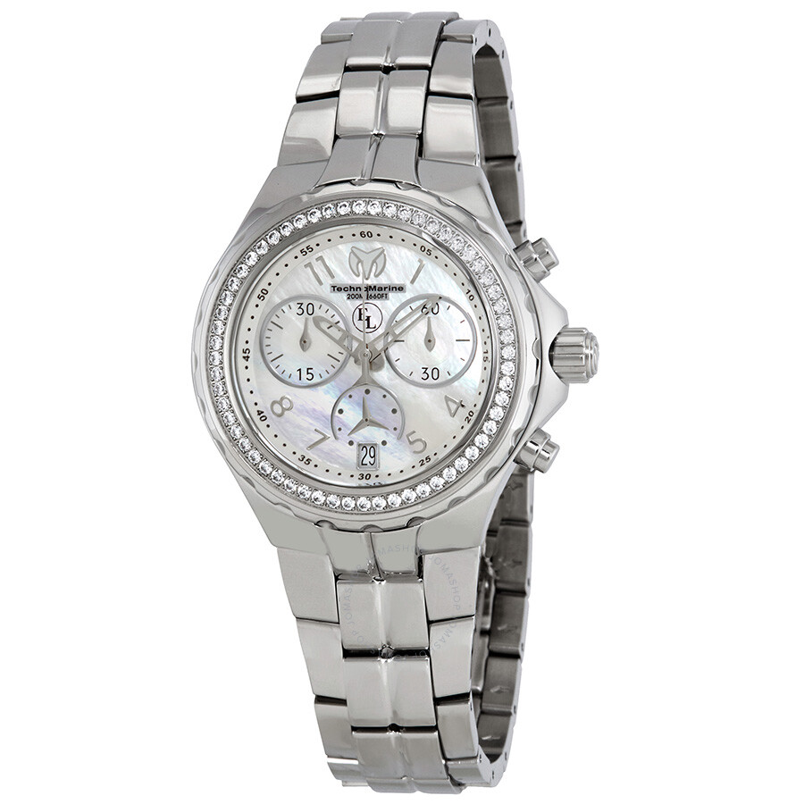 TechnoMarine Eva Longoria Chronograph Ladies Watch 416030