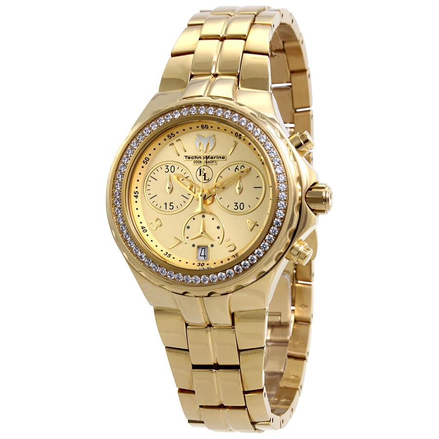 TechnoMarine Eva Longoria Chronograph Ladies Watch 416031