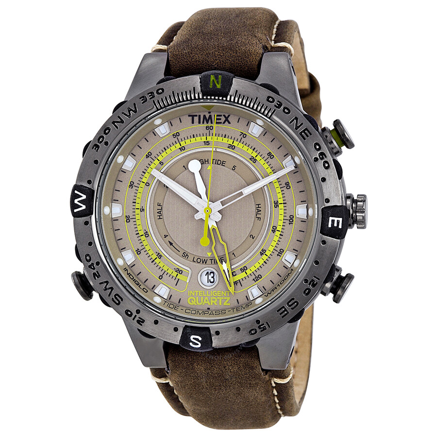 tide to quartz intelligent productdetail enlarge timex compass v click brown watches temperature timax strap watch mens