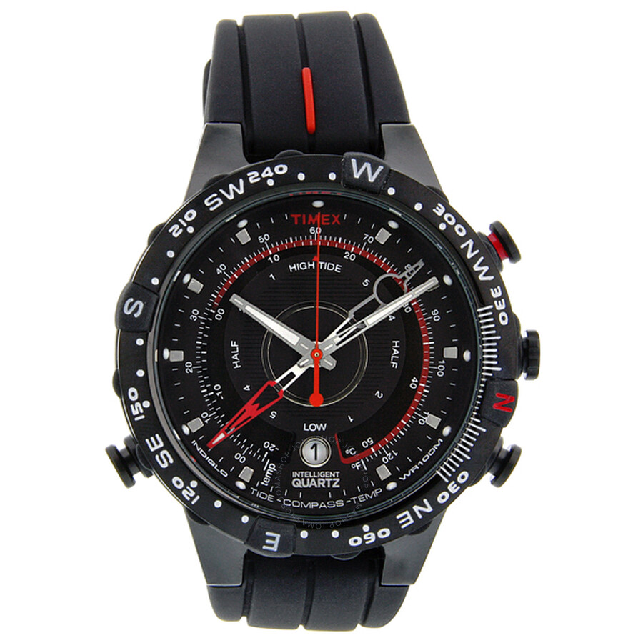 timex male timex expedition etide temperature compass mens watch t2n720