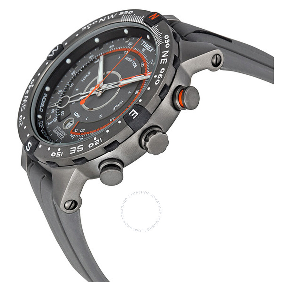 how to use timex compass watch
