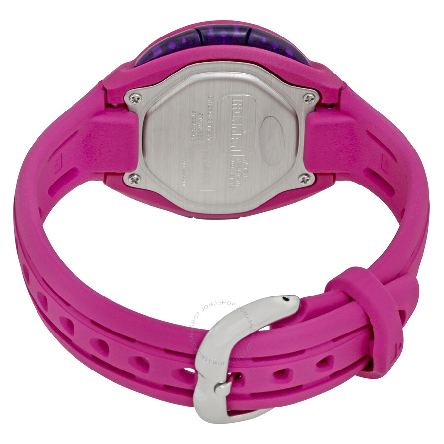 Timex Ironman Digital Pink Silicone Ladies Watch TW5K90400UM - Timex ...