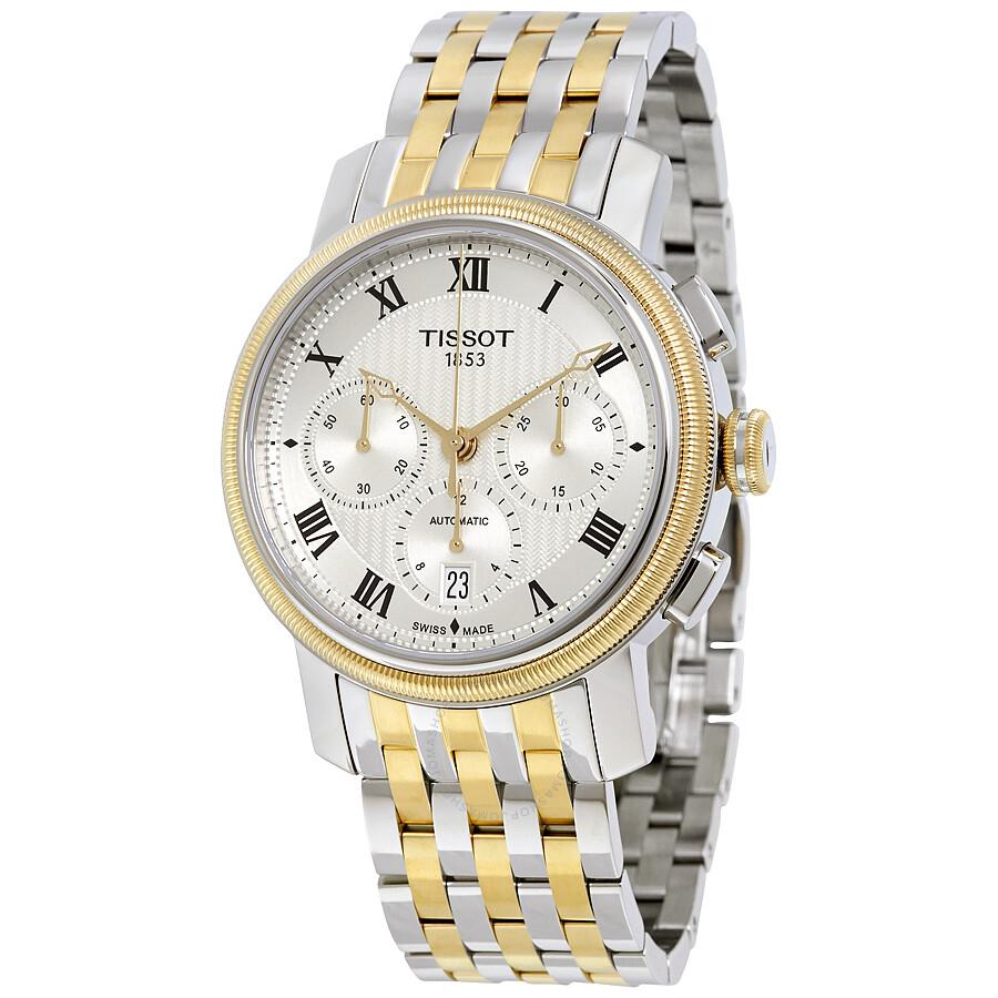 Tissot Bridgeport Chronograph Automatic Mens Watch T097.427.22.033.00
