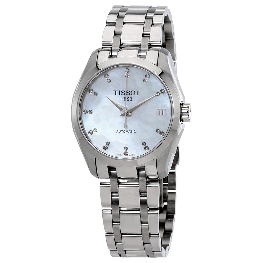 Luxury Watches Pens Handbags And Crystal Tissot Couturier Chronograph T0356271605100 Automatic Ladies Watch T0352071111600