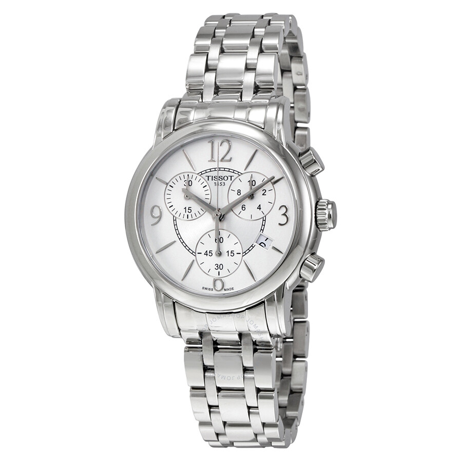 Luxury Watches Pens Handbags And Crystal Tissot T Race Ladies T0482171701700 Dressport Chronograph Silver Dial Sports Watch