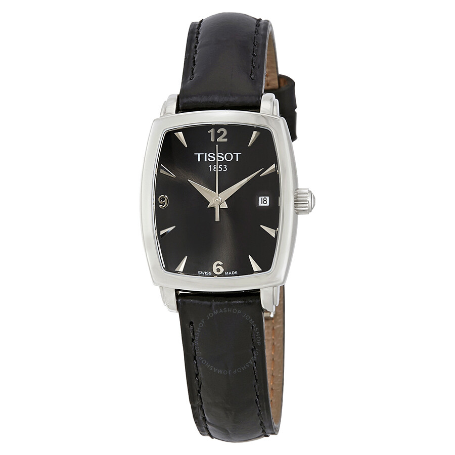 Luxury Watches Pens Handbags And Crystal Tissot Mens Prc 200 T0554301105700 Black Everytime Dial Leather Ladies Watch T0579101605700