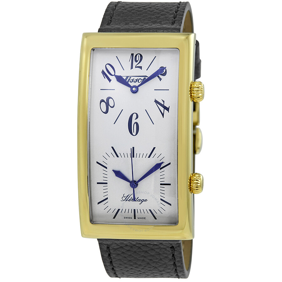 Tissot Heritage Dual Time Leather Mens Watch T56564339