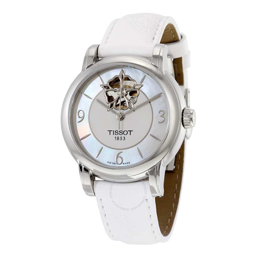 com amazon dp ladies automatic tissot watches white lady watch