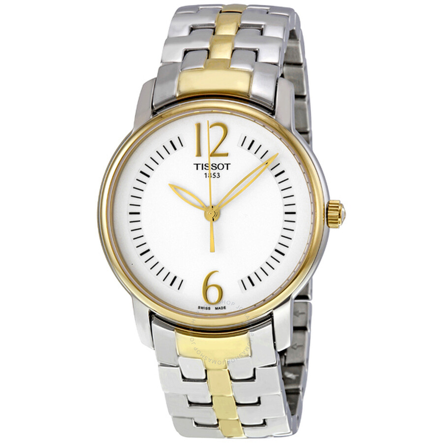 Tissot Lady Round Trend Silver Dial Ladies Watch T0522102203700
