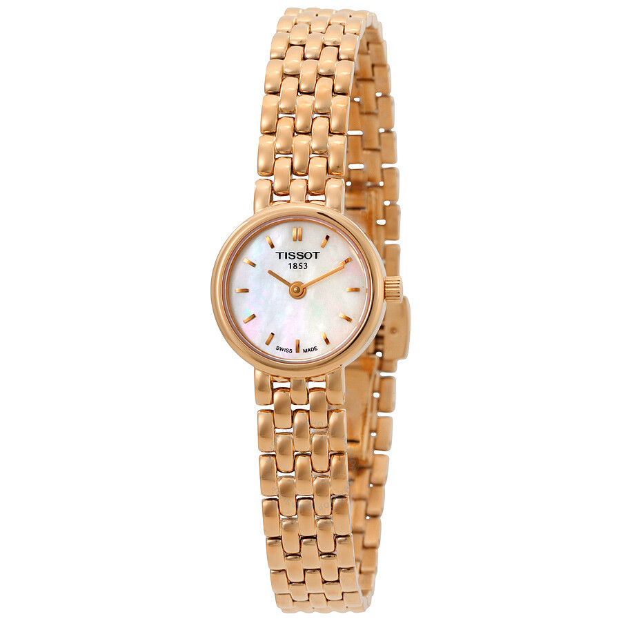 Tissot Lovely Mother of Pearl Dial Ladies Watch T058.009.33.111.00