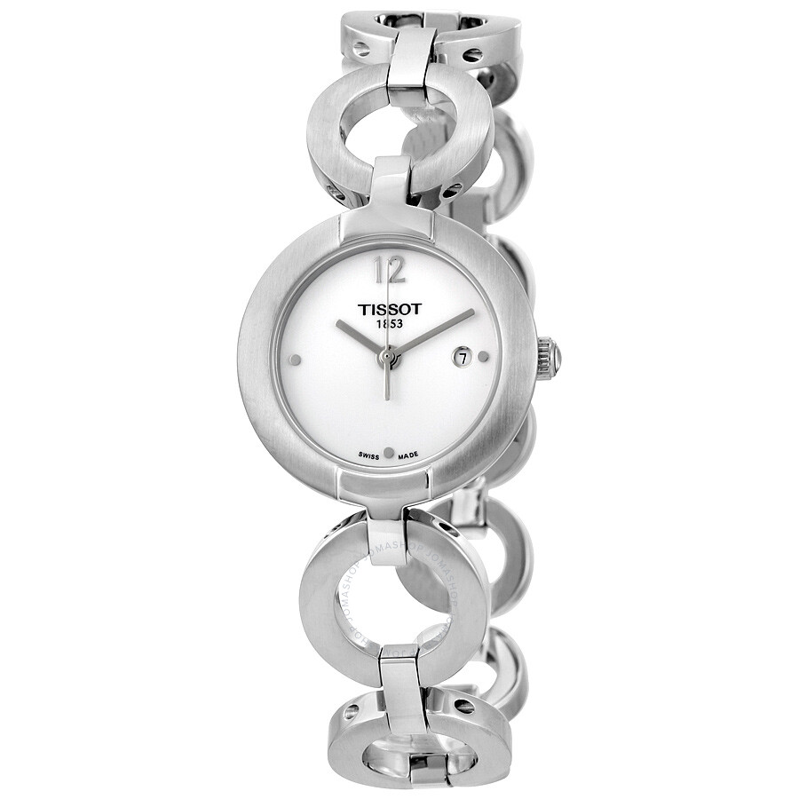 Tissot Pinky White Dial Ladies Watch T084.210.11.017.00