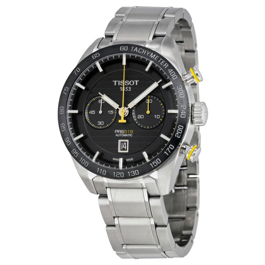 tissot prs 516 automatic chronograph men 39 s watch. Black Bedroom Furniture Sets. Home Design Ideas