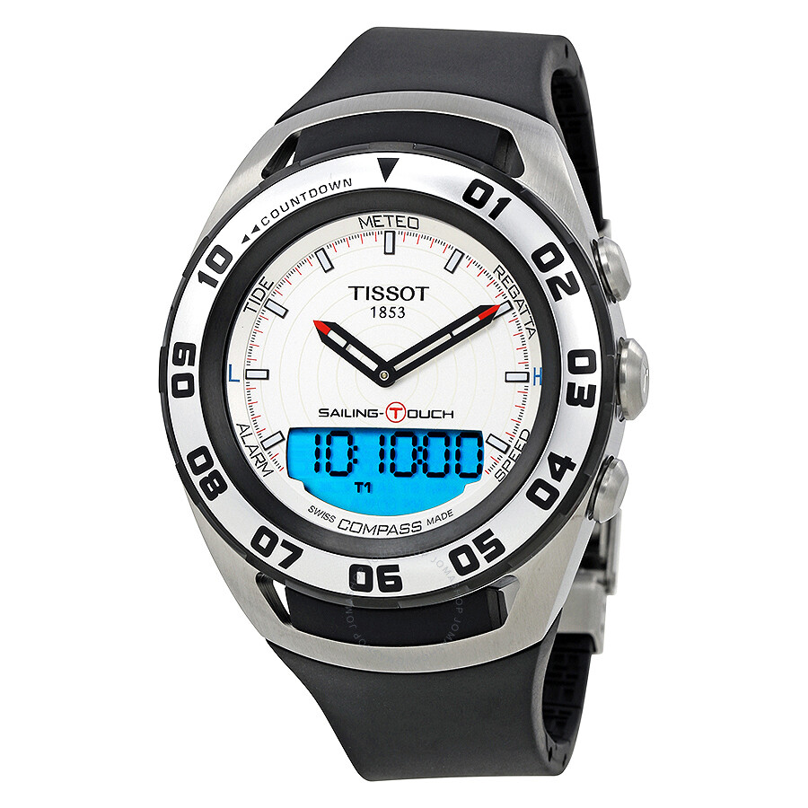 tissot sailing touch men s watch t056 420 27 031 00 sailing touch rh jomashop com tissot racing touch user manual tissot racing touch mode d'emploi