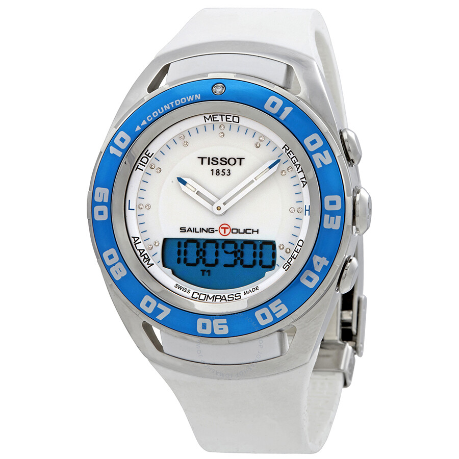 Tissot Sailing Touch Ladies Watch T0564201701600