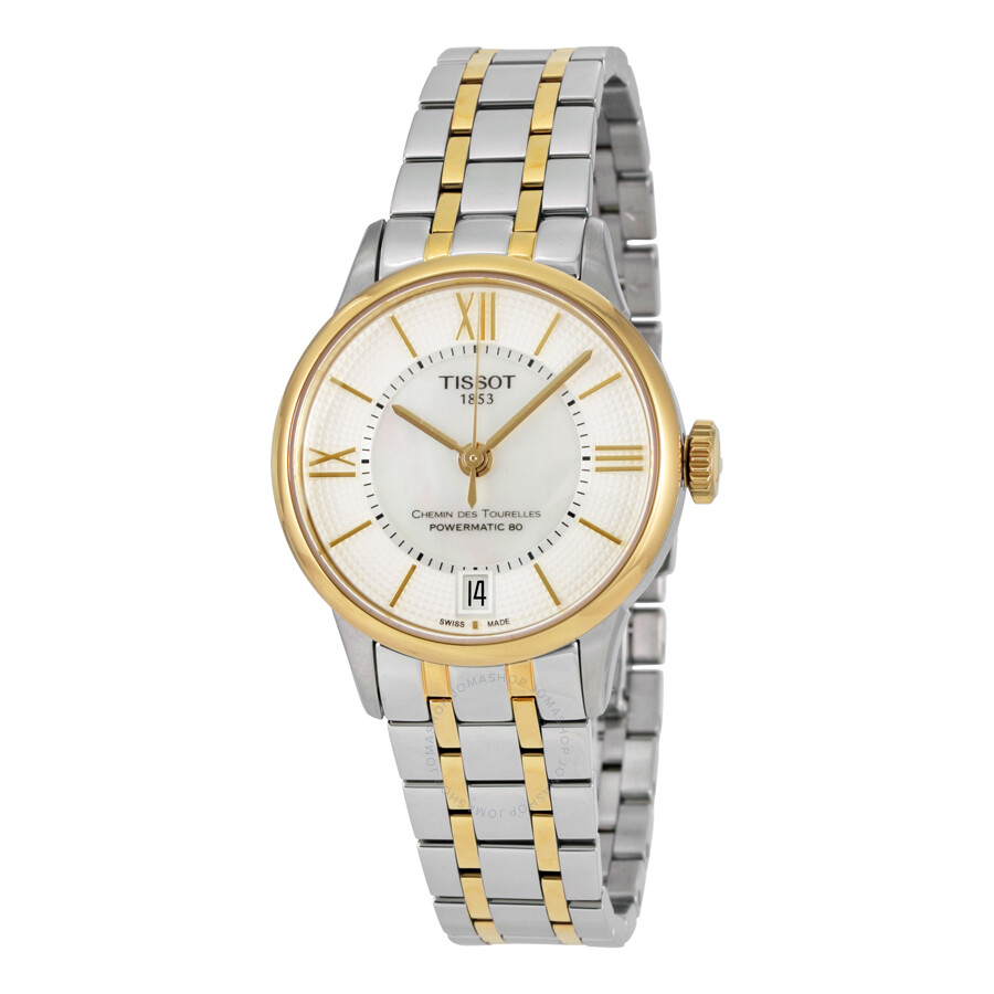 Tissot T-Classic Mother of Pearl Dial Ladies Watch T099.207.22.118.00
