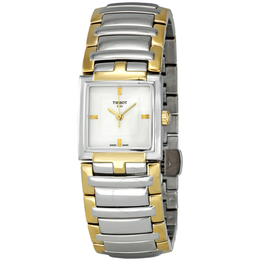 Tissot T-Evocation White Dial Ladies Watch T0513102203100