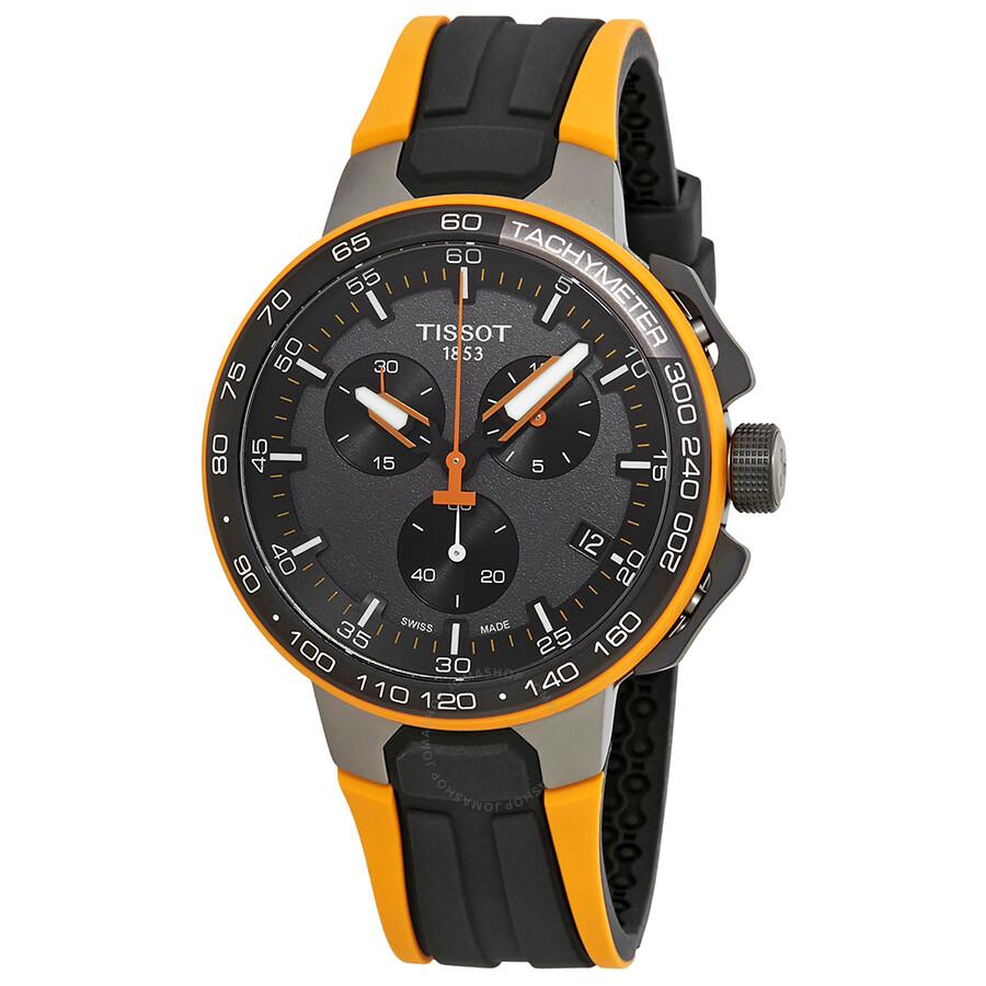 tissot t race cycling chronograph bronze dial men 39 s watch. Black Bedroom Furniture Sets. Home Design Ideas