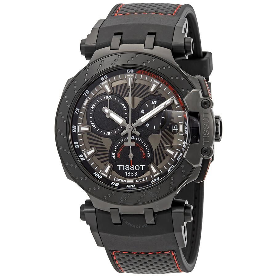 tissot t race motogp 2018 chronograph men 39 s watch. Black Bedroom Furniture Sets. Home Design Ideas