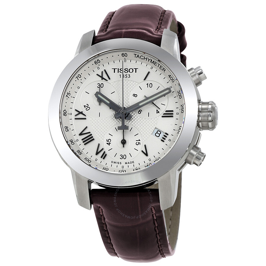 Luxury Watches Pens Handbags And Crystal Tissot T Race Ladies T0482171701700 Sport Chronograph Silver Dial Watch T0552171603301