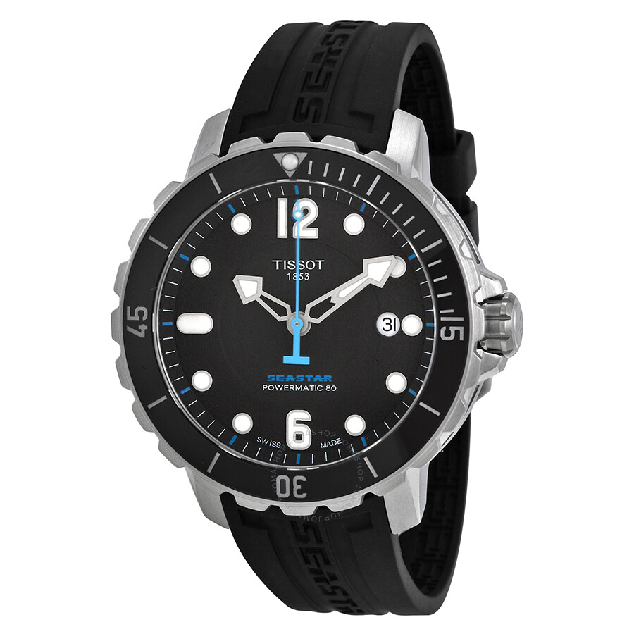 Tissot t sport seastar 1000 automatic men 39 s watch t0664071705702 seastar t sport tissot for Celebrity tissot watches
