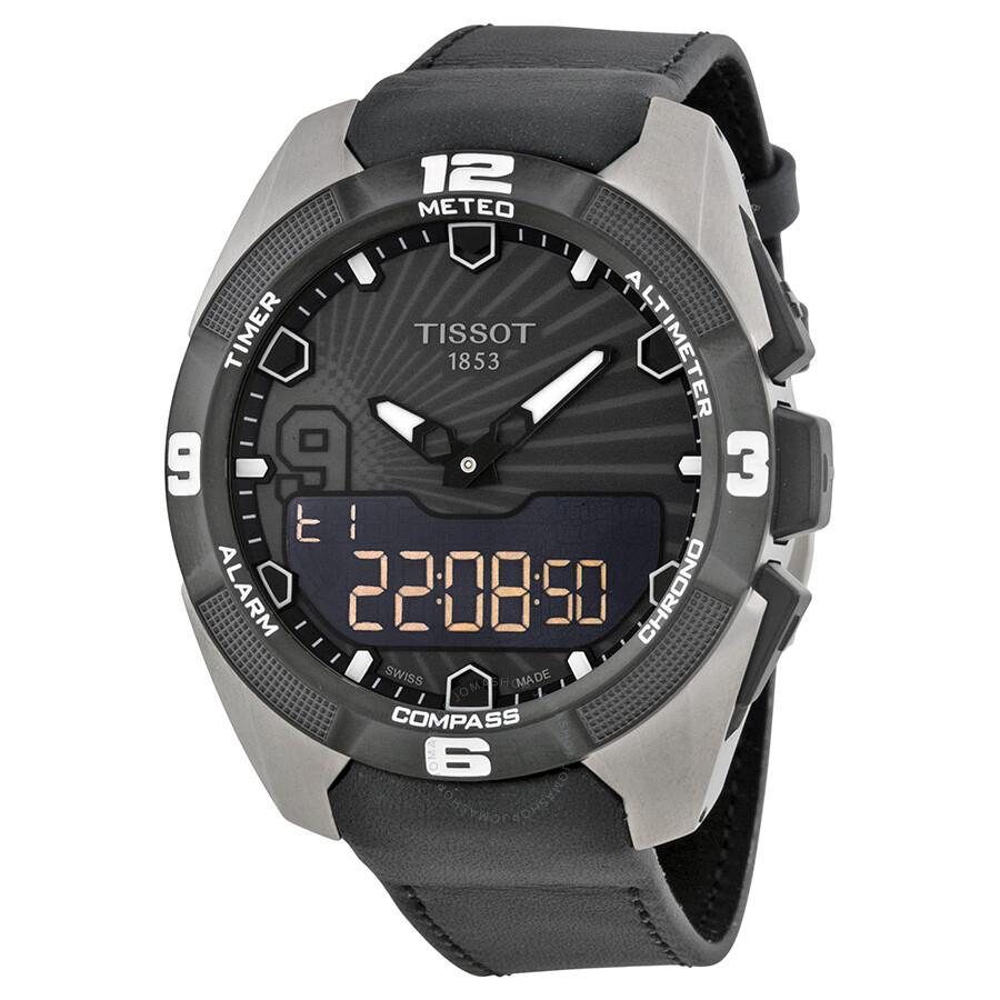 tissot t touch expert solar tony parker men s watch t0914204606100 rh jomashop com Tissot T-Touch manual de uso reloj tissot touch